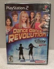 Playstation 2 Dance Dance Revolution Disney Channel Edition PS2 NEW Raven Hannah