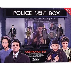 Doctor Who Figurine Collection 1st FIRST DOCTOR Companions Box Set Eaglemoss #8