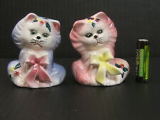 Pair of Cats Salt and Pepper shakers