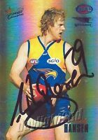 ✺Signed✺ 2007 WEST COAST EAGLES AFL Card ASHLEY HANSEN