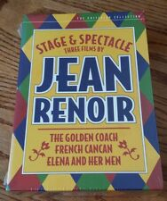 Stage & Spectacle: 3 Films by Jean Renoir (DVD) Criterion Collection 241 and NEW
