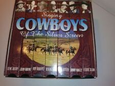 Singing Cowboys of the Silver Screen Color - 7 VHS SET #31443 1996 made in USA