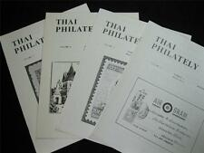 THAI PHILATELY JOURNAL VOLUME 2 1979  No's 1-4