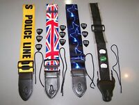 Funkadelic Guitar Straps w/ 3 Guitar Picks by ROCK HOUSE & Free Shipping