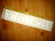 original Technics Aufkleber 40cm x 8cm  - neu -