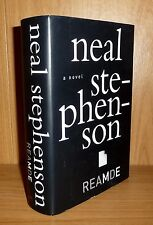 READ ME reaMdE by Neal Stephenson TRU HB 1st SIGNED!