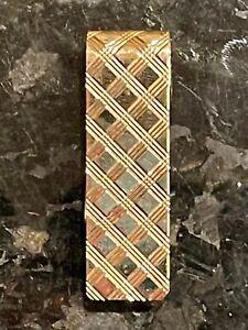 14k Yellow Gold Handmade Money Clip