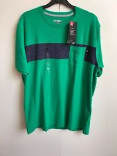 Under Armour 2017 UA Mens Ridge Charged Cotton Pocket T-Shirt - Large - Green