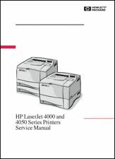 HP LaserJet 4000/4050 Laser Printer 394 PAGE Service Manual  *PAPER not PDF* Pod