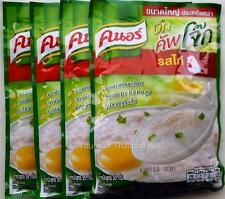 Knorr Instant Jasmine Rice Porridge Chicken Flavor, Cup Jok, Breakfast