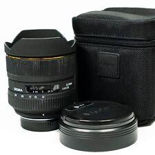 Sigma EX DG 12-24mm F/4.5-5.6 HSM DG AF IF ASP Lens - Nikon F fit Full Frame