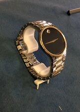 Men's Two Tone Movado Watch  20.1.20.1094 Museum Dial Stainless Steel Band