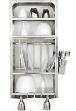 Dish Drying Rack Kitchen Cabinet Stainless Steel 76X46 CM