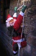 Escalada Santa con escalera de cuerda! 0.9M (3ft) Decoración De Interior/Exterior Navidad