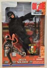 GI Joe Classic Collection DELTA SOLDIER Action Figure w/ 35th Anniversary Patch