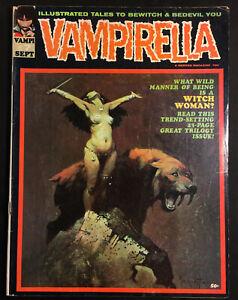VAMPIRELLA 7 FRANK FRAZETTA COVER ART WARREN VOL 1 MAGAZINE HORROR CREEPY