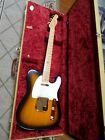 Fender Telecaster guitar 1998 Collectors Edition #649 Sunburst in Fender Case
