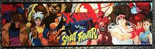 "X-Men vs Street Fighter Arcade Marquee 26""x8"""
