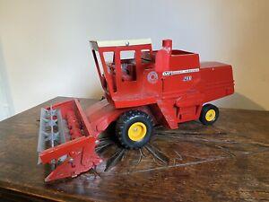 Old Vintage ERTL Massey Ferguson Combine Harvester Very Large
