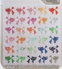 PATTERN - Goldies - fun paper pieced quilt PATTERN - Claire Turpin