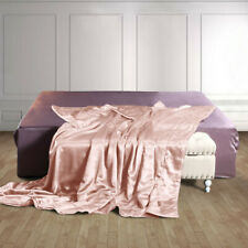 19 Momme 100% Pure Silk Blanket Soft Mulberry Silk Sofa Throw Blankets/Quilt