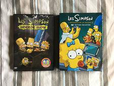DVD LES SIMPSON - horror show - intégrale de la saison 8 - lot x2
