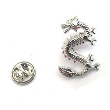 Chinese Dragon LAPEL PIN BADGE Yin Yang Good Luck Christmas Present GIFT BOX