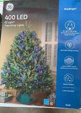 400 Count LED Multi-color EZ Light Tree Wrap Christmas Lights GE.