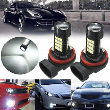 2x H11/H8 42 SMD LED White 2835 Canbus Error Free Fog Light Bulb 8000K