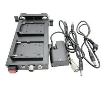 Battery Power Supply System NP-F970 / F550 Mount For LP-E6 5D2 5D3 BMPCC Camera