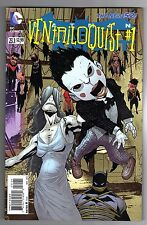 BATMAN: THE DARK KNIGHT #23.1 - STANDARD VENTRILOQUIST #1 COVER - DC NEW 52