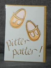 "BN - BIRTH CARD - ""PITTER PATTER!"" - MADE BY HOTCHPOTCH"