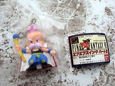 RARE Final Fantasy VI 1994 BANDAI swing figure keychain Strago w/ mini booklet
