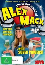 The Secret World Of Alex Mack : Season 1 (DVD,  2-Disc Set) NEW SEALED R4