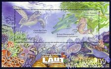 2012 Malaysia Underwater Life Turtle Seahorse Fish Coral Reef Mini-Sheet Stamp