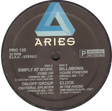 SIMPLY AT WORK / ON-OFF GROUP / BILLABONG / CLOCK - Promo Mix 135 - 1996 Aries