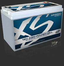 XS POWER XP3000 AGM CAR AUDIO 3000 AMPS Power Cell Battery With Terminals 120 AH