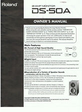Roland ds-50a Owner's manual