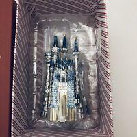 Hallmark 2018 Disney Cinderella's Castle Premium Keepsake Ornament Metal NEW