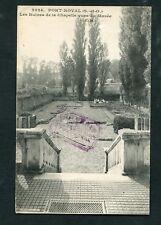 78 - Yvelines - PORT-ROYAL : Ruines de la Chapelle vues du Musée - E. M. 2324