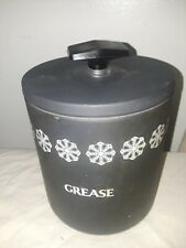 """Vintage lightly used Miracle Maid 7"""" Grease Cannister (N971)s7"""