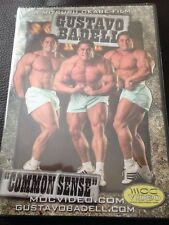 Gustavo Badell Common Sense Bodybuilding DVD Brand New And Sealed!