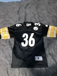 Youth Vintage Starter 1998 Pittsburgh Steelers Jerome Bettis Jersey Size M 10-12