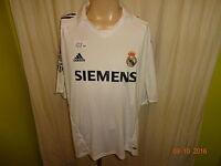 """Real Madrid Original Adidas Heim Trikot 2005/06 """"Siemens"""" Gr.XXL TOP"""