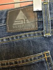 SILVERTAB Levi's Mens Jeans 35 X 31 1/2 (Tag Reads 36/34) Low Loose (3H2)