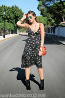 ZARA FLORAL CAMISOLE DRESS SIZE S M