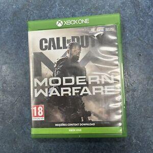 Call of Duty Modern Warfare Xbox One PAL COD MW
