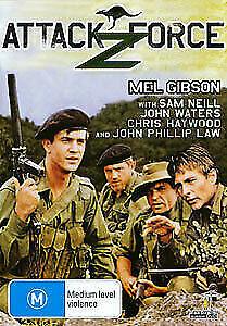 ATTACK FORCE Z DVD Mel Gibson 1982 War Australian Movie John Waters Sam Neill