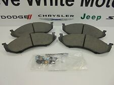 87-06 Jeep Wrangler Comanche Cherokee New Front Brake Pad Kit Mopar Factory Oem