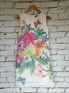 RENE DERHY Kleid Robe Dress Vestido Gr. S